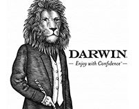 Darwin Brandmark Illustrated by Steven Noble