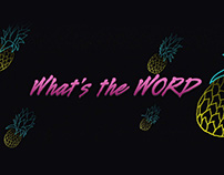 Stoppa - What's the Word | Lyric Video