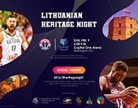 """LITHUANIAN HERITAGE NIGHT"" kvietimas"