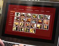 AURA PROJEKT website