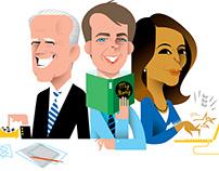 Joe, Pete, Kamala for Politico