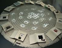 &TIME booklet clocks installation art