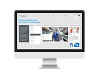 Ecotech Website Concept
