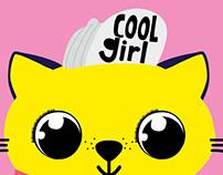 Poster Cool Girl