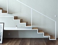 Spatial Design // Floating Staircases