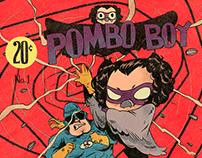 "Title card Irmão do Jorel ""Pombo Boy""/ Cartoon Network"