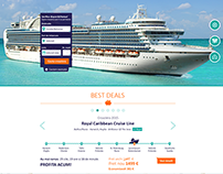 Cruise Booking Website