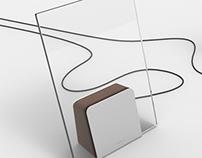 A U R E A - glass speaker