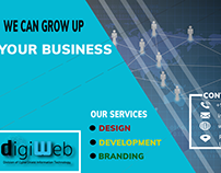 Digiweb #Digital Marketing Banner