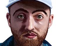Mac Miller Portrait
