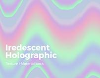 Iridescent Holographic Texture