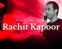 Motivational Speaker Website by ravisah.in