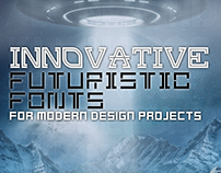 45+ Innovative, Futuristic Fonts for Modern Design