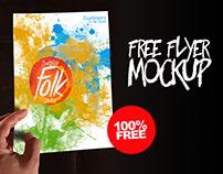 Free Flyer Mockup (old)