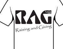 Rag Day T-shirt design