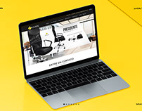 After Effects Website Presentation - Pelegrin
