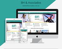 BH & Asociados - Sitio Web