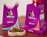 Whiskas Gatitos: Repackaging