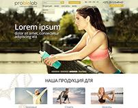ProBioLab site design