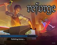 REFORGE UI/UX, graphic design