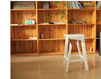 Bi-Material Chair