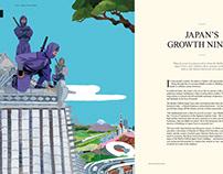 Illustration baillie gifford trust magazine 2