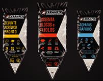 Design de embalagens para Ceramfix