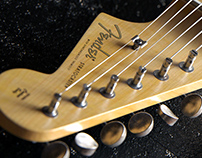 THE TONE -Fender Stratocaster CGI Visualization-
