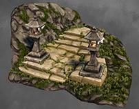 [3D] Ogon Shrine stairs