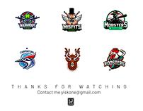 Various Sport logos 2019