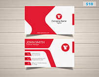 Sleek 3D Artist Business Card