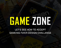 Gaming Flyer Design I Game Zone Promotion