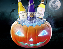 Halloween Wines Promotion