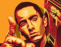 Eminem Portrait illustration