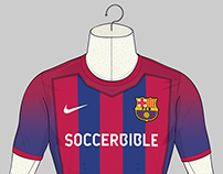 2025 Football Strip for SoccerBible