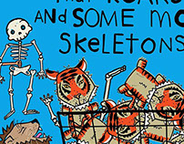 Tigers & Skeletons Spaghetti Toes