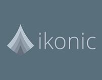 Logo Design: ikonic