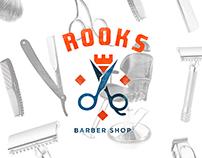 Rooks Barber Shop : Branding & Web
