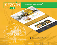 Sezgin Corporate Web Design