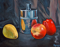 Fine Art: Still Life Oil Painting