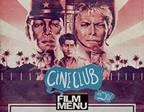 Film Menu CINECLUB - posters