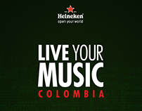 LIVE YOUR MUSIC - HEINEKEN