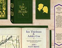 Thielman + Cox Literature-Inspired Wedding Invitations