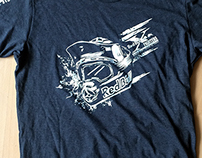 Playera Staff Red Bull X-Fighters 2015