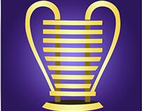 Futebol/Taça da Copa do Nordeste (Vetor)