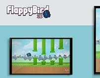 FlappyBird 3D Mark Design