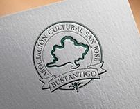 Logo design for cultural asociation.