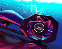 T-Sleigh by Audi X RedBull / Master Thesis Project