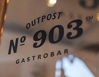 Outpost 903 Gastrobar—Restaurant Branding & Interior