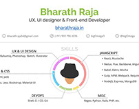 Resume (CV) concept
